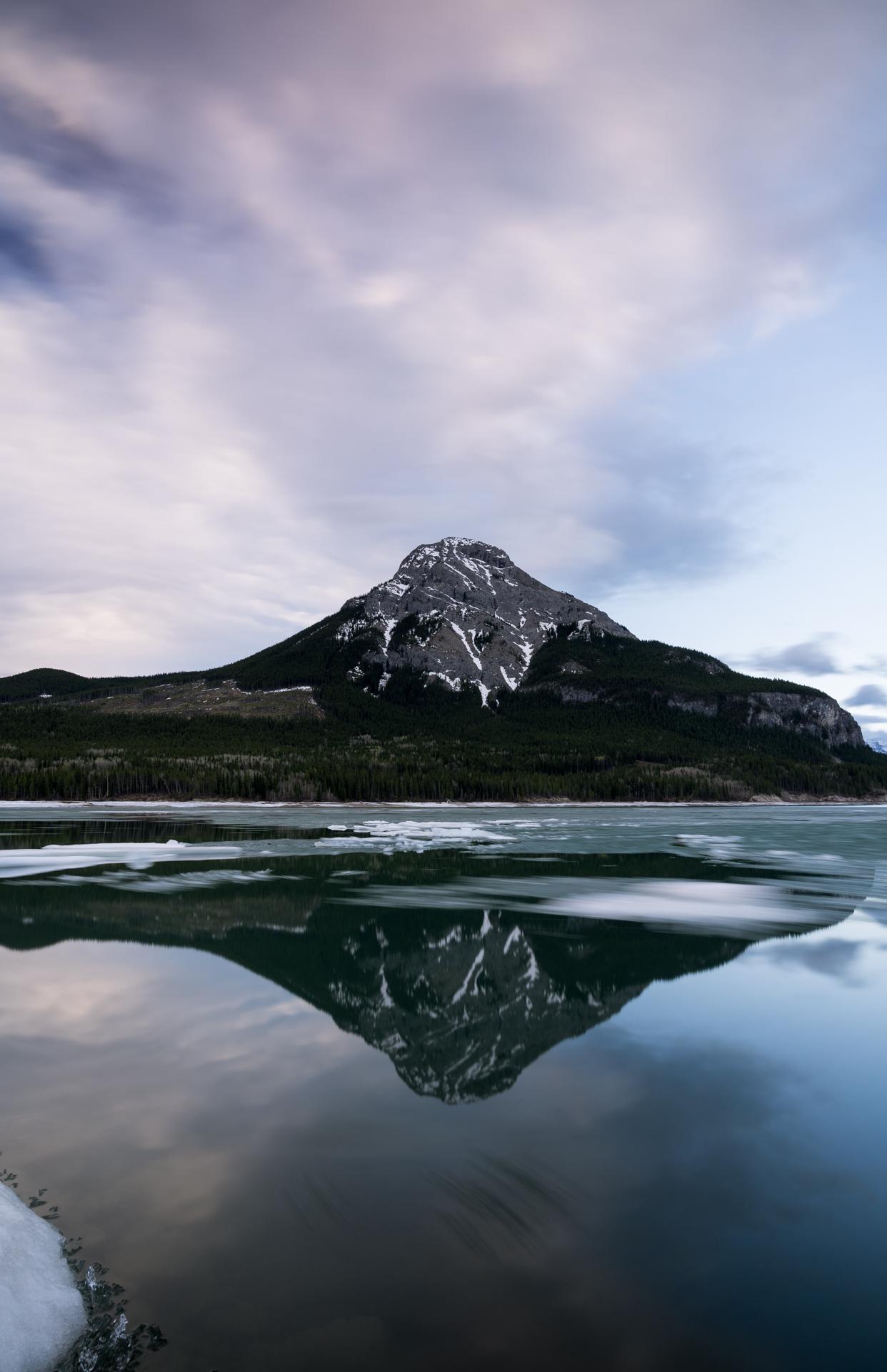 Barrier Lake Sunrise  Sony A7ii, 16-35mm Zeiss F4  25 Seconds,  f /11.0, 19mm, ISO 100