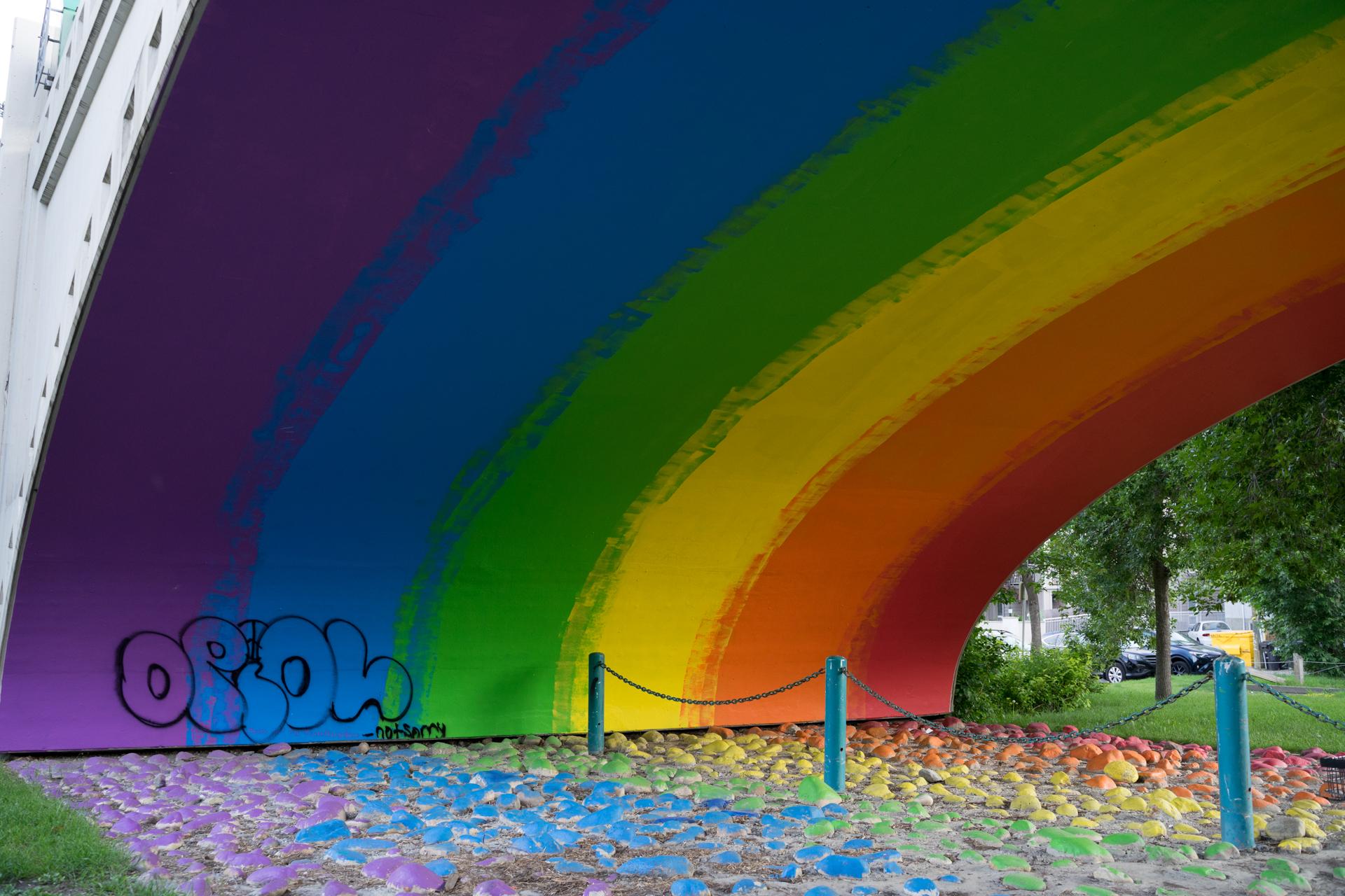 Rainbow Bridge - Riley Park