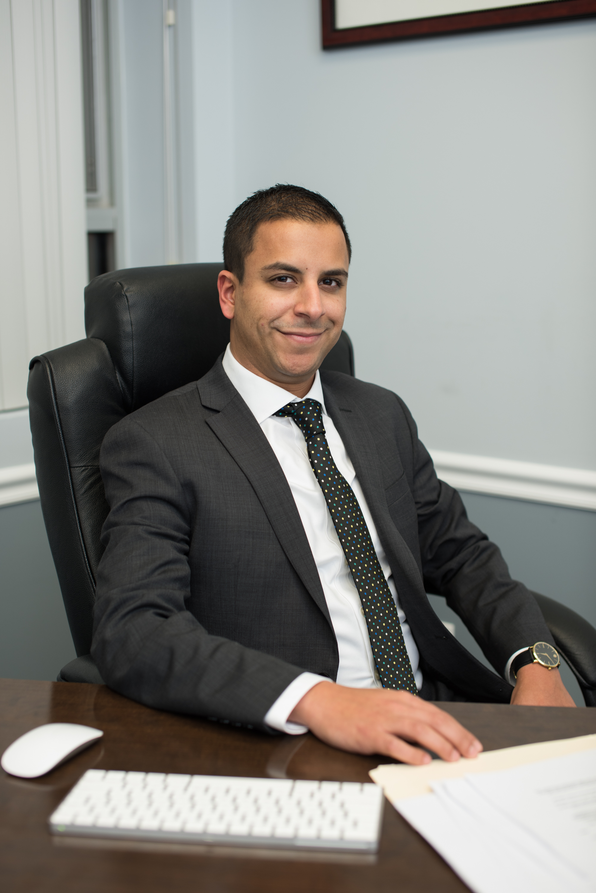 As a law student, Mr. Elias was always eager to get in the courtroom. Capitalizing on a court rule that allows students to make appearances under attorney supervision, Mr. Elias spent his time out of the classroom representing juveniles in delinquency proceedings as a member of the Rutgers Law Children's Justice Clinic and defendants in all stages of criminal proceedings as an intern for the New Jersey Office of the Public Defender. After graduating in the top 15% of his class, Mr. Elias served as a law clerk to the Honorable Robert J. Mega in Union County, where he had a ringside seat to some of the most accomplished criminal attorneys on trial.  Mr. Elias then went on to serve the Burlington County Prosecutor's Office as an Assistant Prosecutor in the Grand Jury/Case Screening Unit, where he was tasked with evaluating, investigating and ultimately presenting hundreds of cases to the Grand Jury for indictment, ranging from simple charges of Shoplifting and Drug Possession to more complex, multi-defendant and multi-count indictments charging serious crimes such as Identity Theft and Armed Robbery. Mr. Elias was later employed by the top auto insurer in New Jersey and assigned to a heavy caseload defending his clients against claims of property damage and catastrophic bodily injury. Mr. Elias quickly gained valuable experience in all aspects of personal injury litigation and has never lost a jury trial to date. With experience working for both the government and the insurance industry, Mr. Elias is well-qualified to confront the most challenging legal issues confronted by his clients.  Mr. Elias is an active member of the Coptic Orthodox community in New Jersey and is also conversational in Arabic.