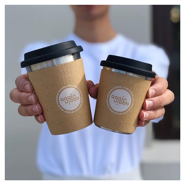 • LAUNCHING MONDAY •  We are very proud to be joining the @againagainco network of cafes with a new reusable coffee cup scheme that is both Green, AND convenient.  For more information check out www.againagain.co and join the landfill-free movement!  #sustainability #ecofriendlynz #aucklandcafes #reusablecoffeecup #againagain