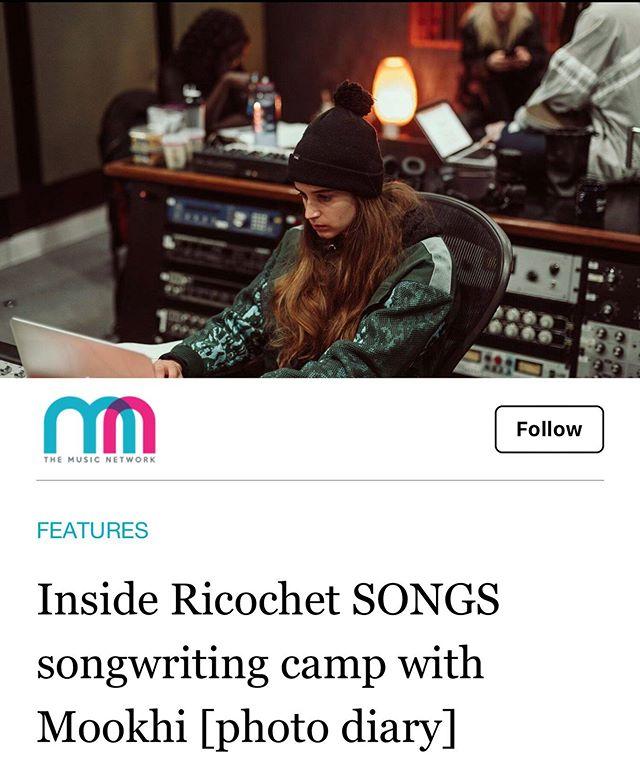 @mookhimusic takes you through each day of Ricochet SONGS (Hip Hop) last week with a photo diary. Thanks @themusiccomau for the love