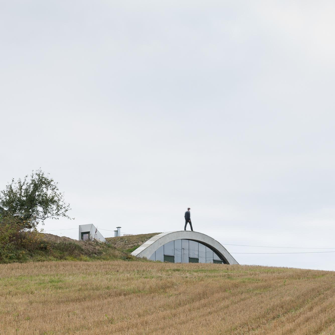 Haughuset på Toten, Tandberg arkitekter