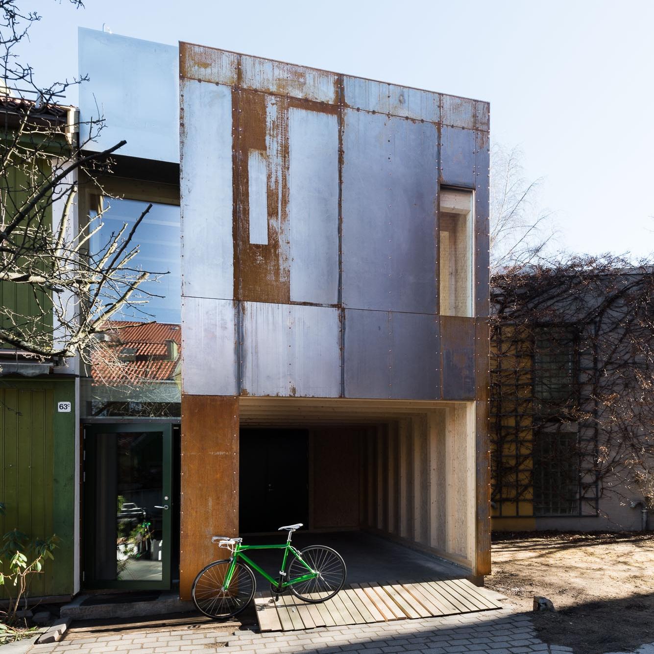 bonytt - Tilbygget i Maridalsveien er rustet for fremtiden.