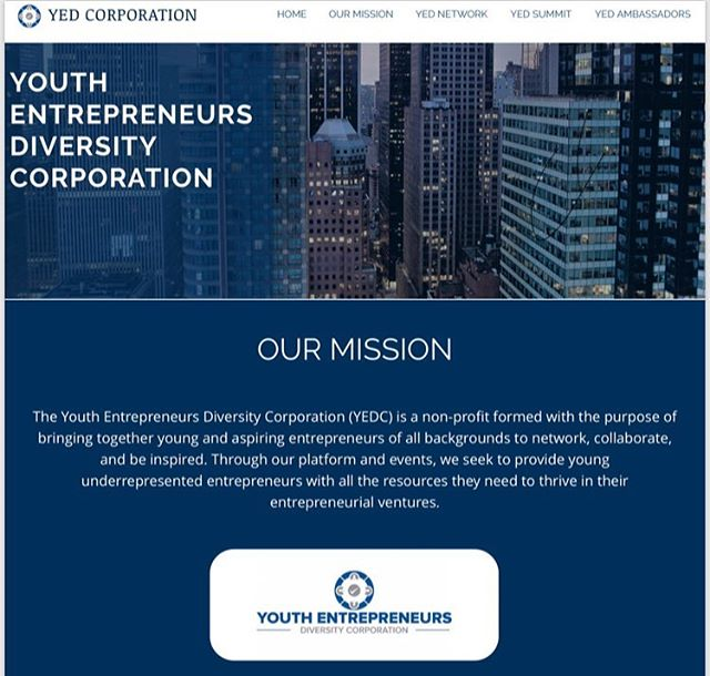 If you're interested in expanding your network and seeing more about what the Youth Entrepreneurs Diversity Corporation is all about, check out our updated website YEDCorp.org. Learn more about the mission, the network, and the people that make it happen . . . . . #YEDCorp #YEDNetwork #entreprneurship #entrepreneur #network #networking #hustle #youngentrepreneur #ecommerce