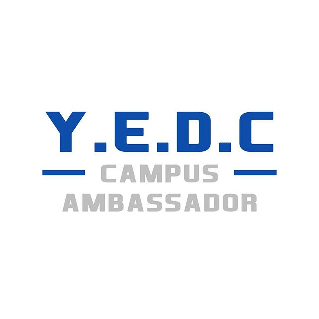 We would like to congratulate all of those who have been accepted as Y.E.D.C Campus Ambassadors!  If you are new and were unaware of the Campus Ambassador role and would like to find out more email bnmoorer@me.com or jpwill23@gmail.com for more details.