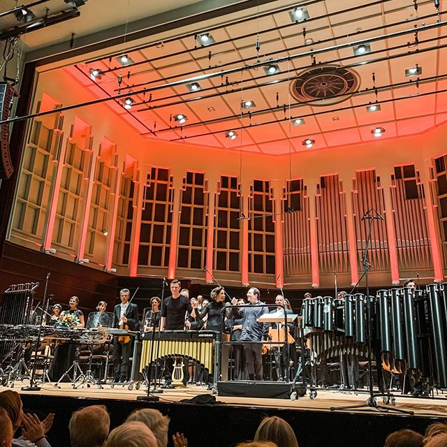 I had a wonderful week with @dkambremen under the baton of fantastic @alondradlp in Bremen! Thanks to @fazilsayofficial for an exciting new Percussion Concerto!. . . #percussion #mygroove #classicalbuzz @keynote_artist_management @musikfest_bremen