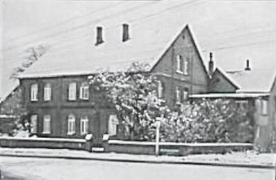 Húsið að Wiilfelerstr. 8, í Hannover, þar sem Gunnlaugur bjó í 4 ár  (mynd úr Litla Bergþór)