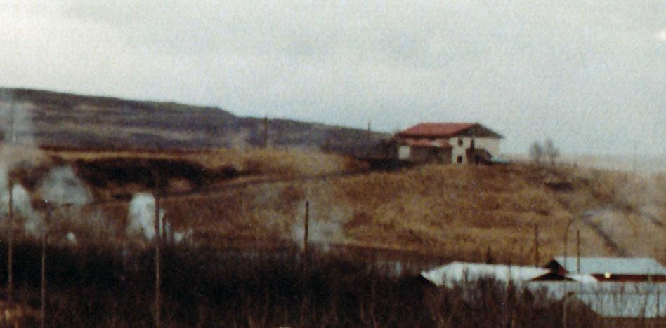 Gamla læknishúsið 1985 (mynd: PMS)