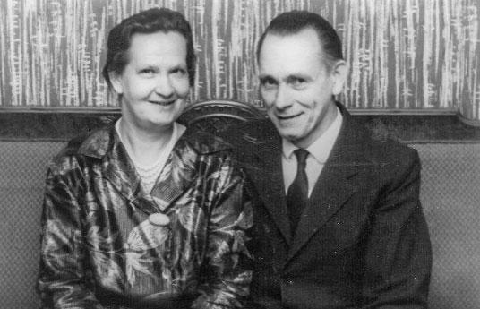 Ketty og Børge 1965 (Mynd frá Lissie Lemming)