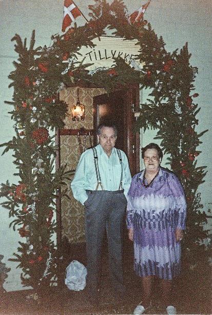 Gullbrúðkaup 1993 (Mynd frá Lissie Lemming)