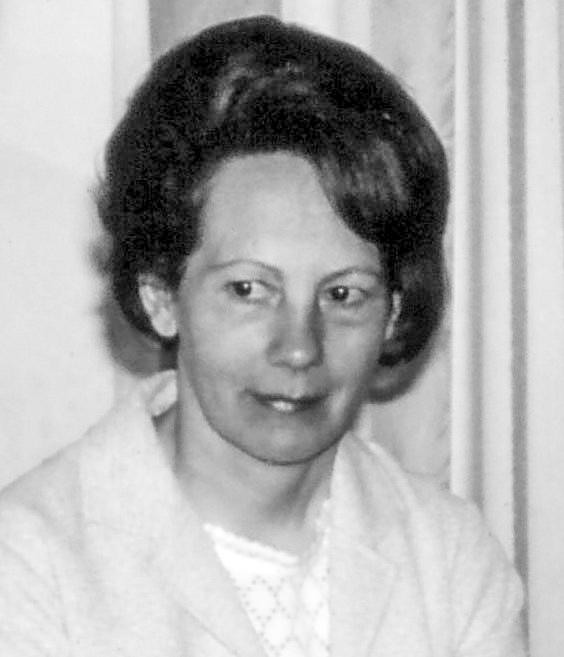 Margrét Guðmundsdóttir 1967 (mynd frá Hveratúni)