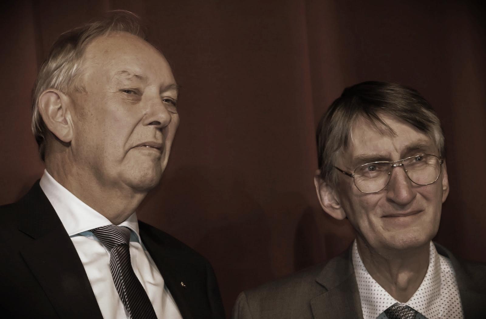 Pétur Skarphéðinsson og Gylfi Haraldsson  (mynd: Magnús Hlynur Hreiðarsson)