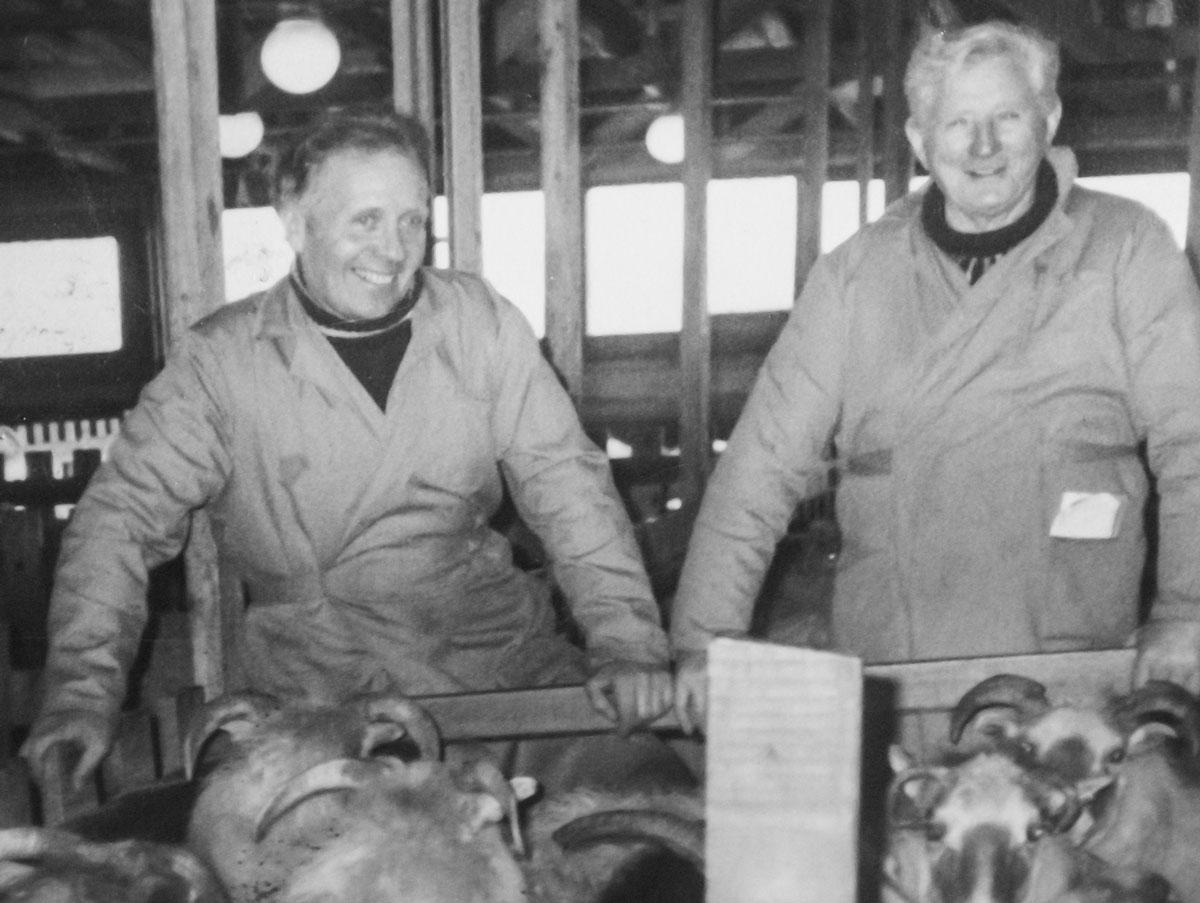 Halldór Jónatansson og Erlendur Gíslason