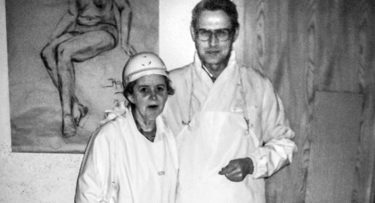 Helga Runólfsdóttir og Gunnlaugur Skúlason
