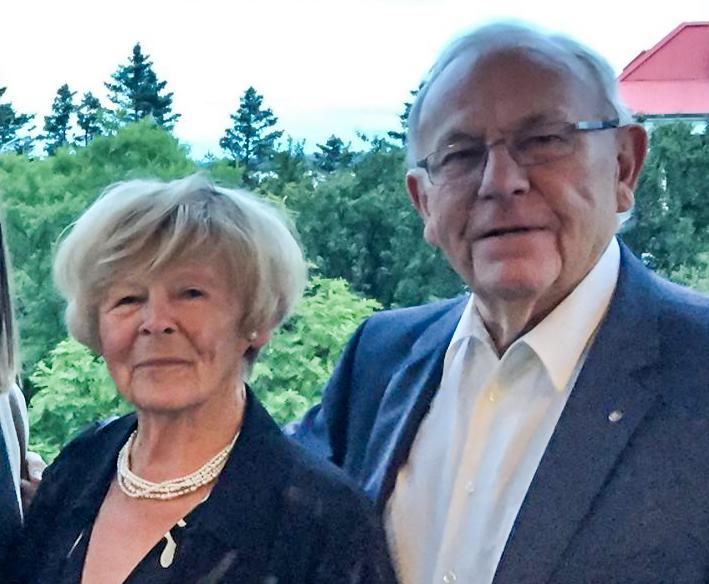 Sigríður og Hjalti Geir (mynd af Fb)