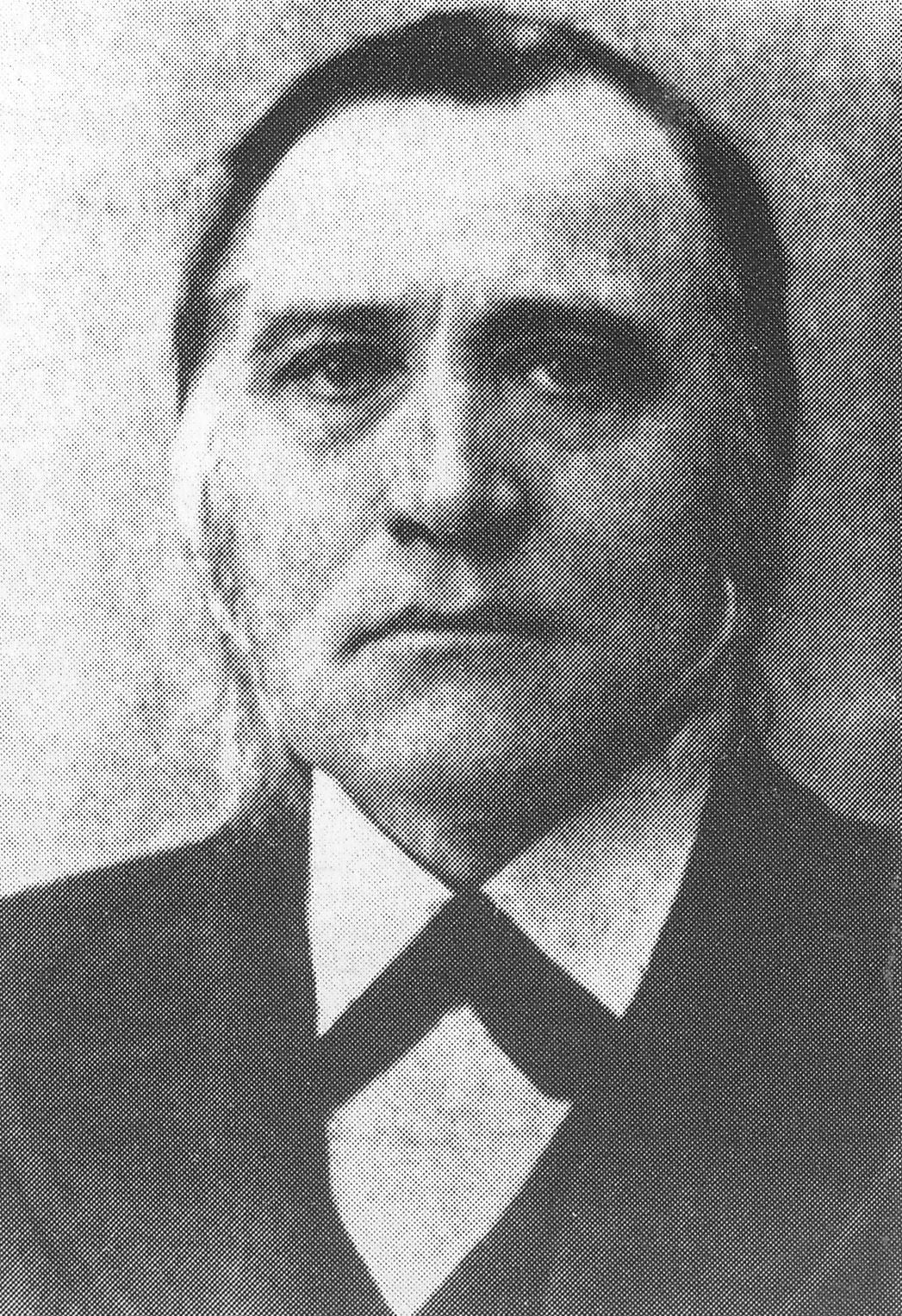 Guðmundur Vigfússon, hómópati. (mynd úr Árnesingi ii 1994)