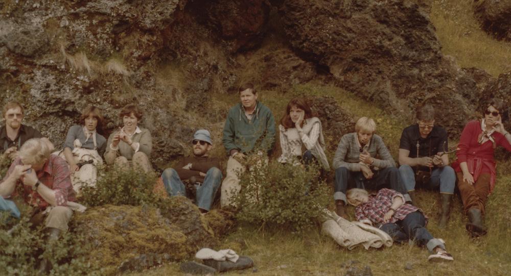 Gústaf, Gunnar, Elsa, Ásta, Hilmar, Sævar, Guðbjörg, Helgi, Maggý, Sverrir, Katý.
