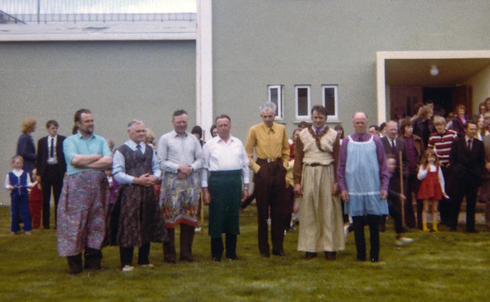 Hjalti Jakobsson, Skúli Magnússon, Sveinn Skúlason Bræðratungu, Jón Einarsson Neðra Dal, Þórarinn Þorfinnsson Spóastöðum, Björn Erlendsson Skálholti, Sigurður Þorsteinsson Heiði og fleiri