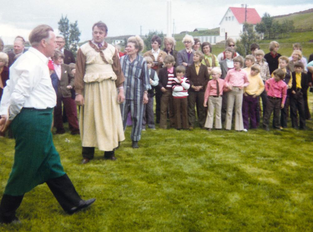 Jón Einarsson, Björn Erlendsson, Helga Karlsdóttir og fleiri
