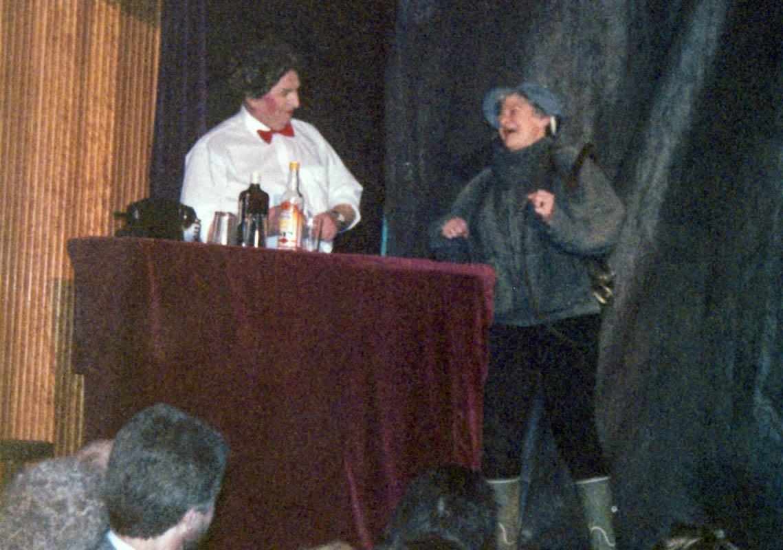 Þorrablót Skálholtssóknar 1991: Georg og Jóna