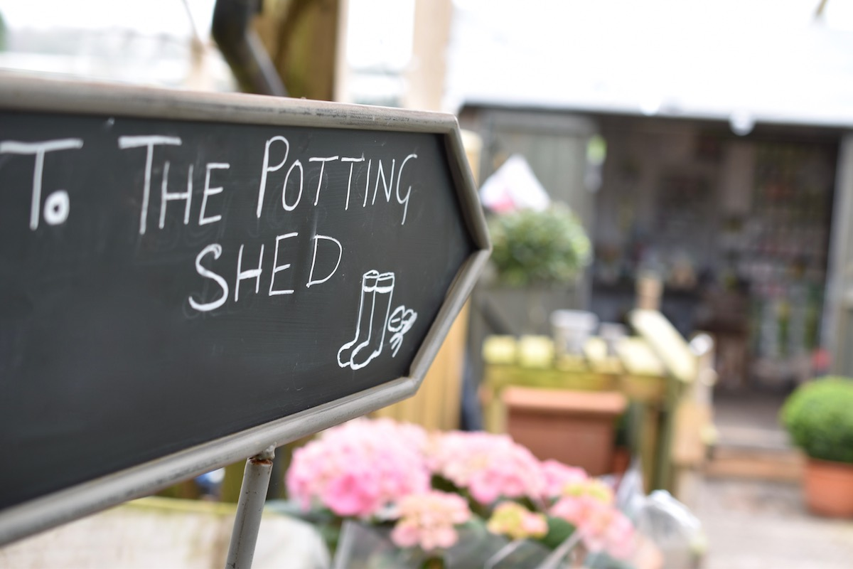 Not many people can resist a visit to the potting shed full of garden essentials that you can't live without.