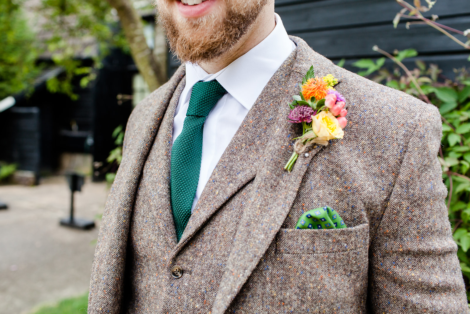 The Groom and his boutonniere