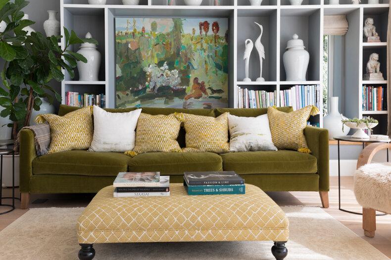 velvet sofa and ottoman.jpg