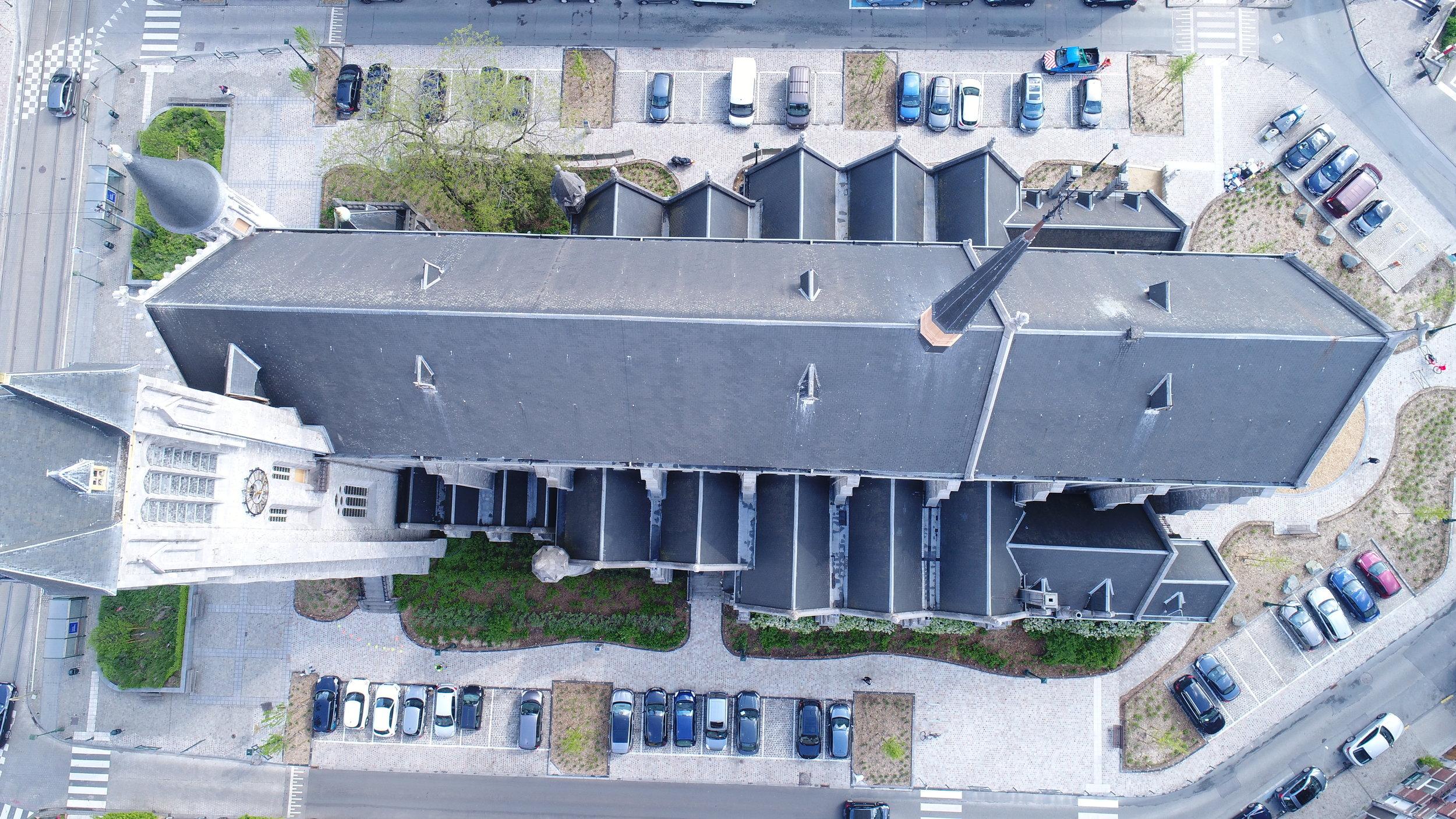Inspection de toiture et façade - pour un bureau d'architecture spécialisé dans le patrimoine.