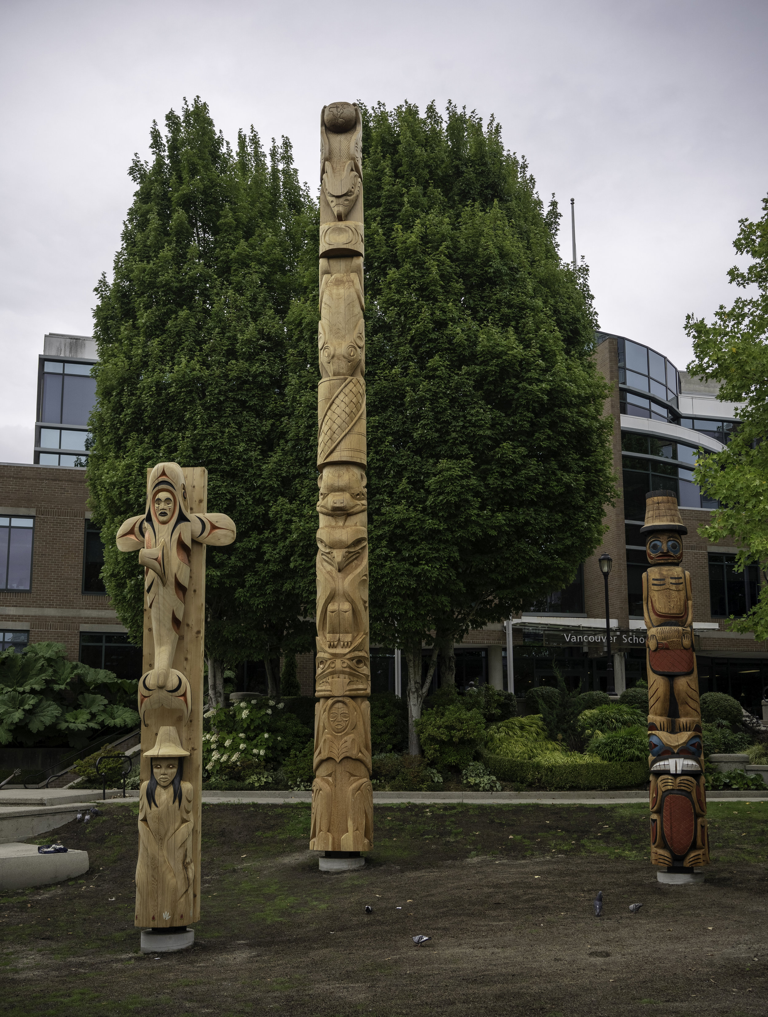 Reconciliation Poles - Vancouver (2019).JPG