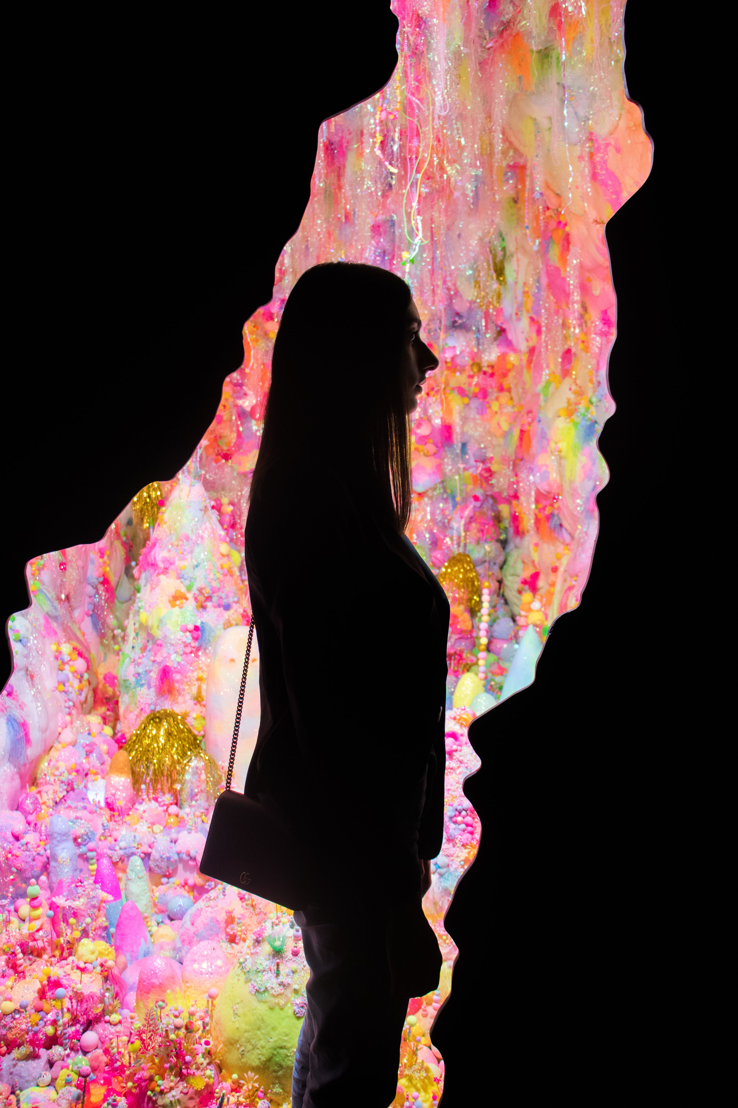 2018 Adelaide Biennial of Australian Art: Divided Worlds featuring Pip & Pop,Darkness will disappear, magic light gonna take you for a ride,Art Gallery of South Australia, Adelaide