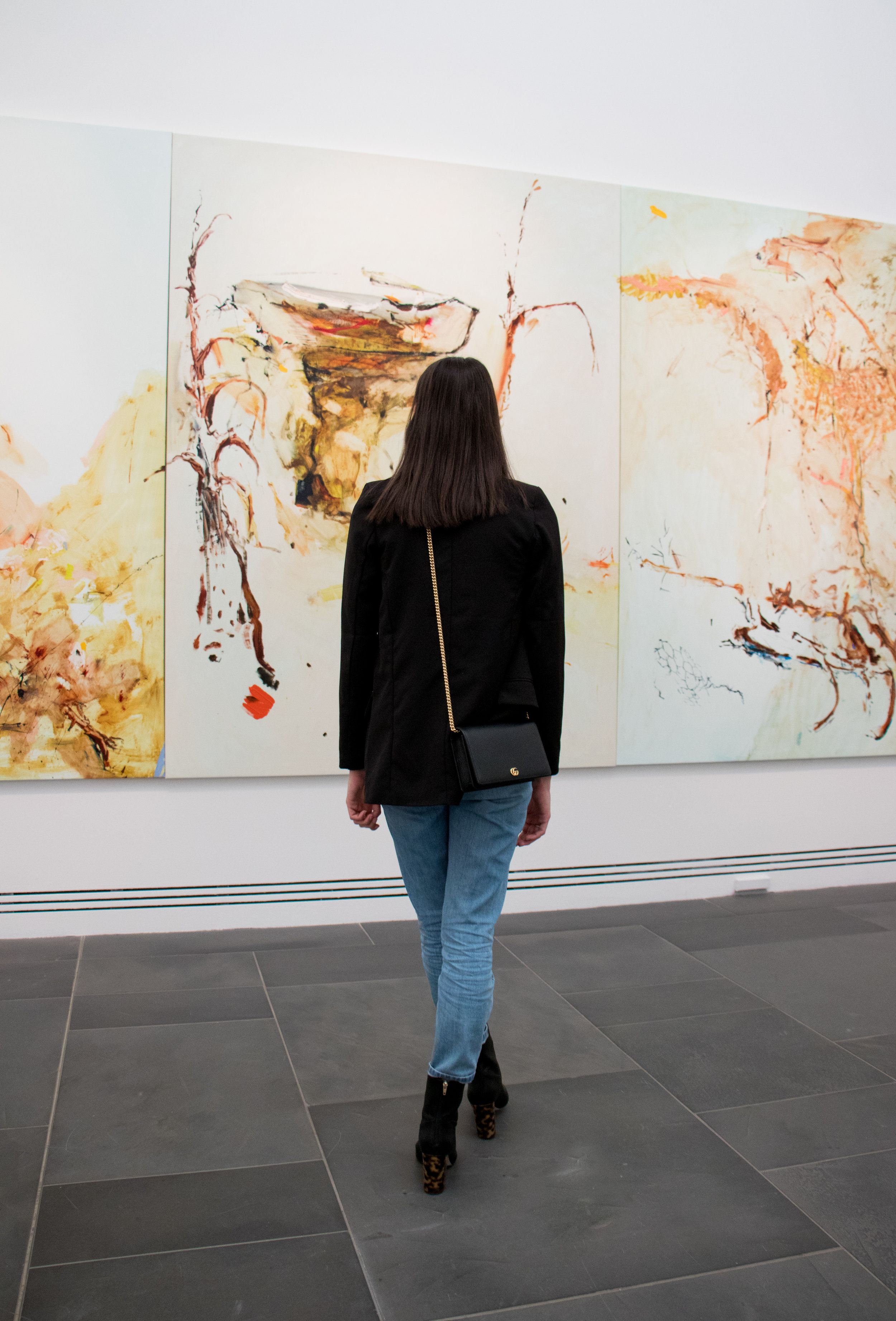 2018 Adelaide Biennial of Australian Art: Divided Worlds featuring John R Walker, Oratunga Burra Suite , Art Gallery of South Australia, Adelaide  Model: Georgia Farese