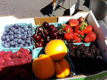 Nothing says abundance like August in a Portland farmer's market
