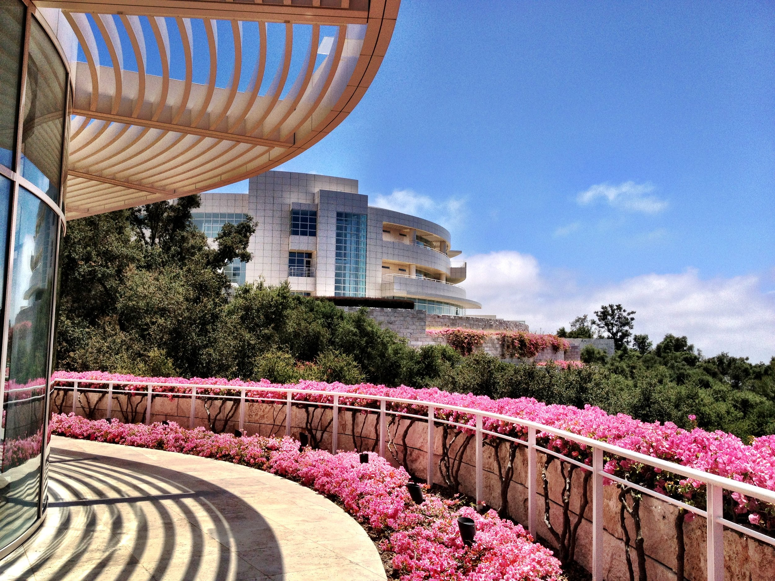One sublime summer day at the Getty Museum LA–perfect way to celebrate a girl's 30th birthday.