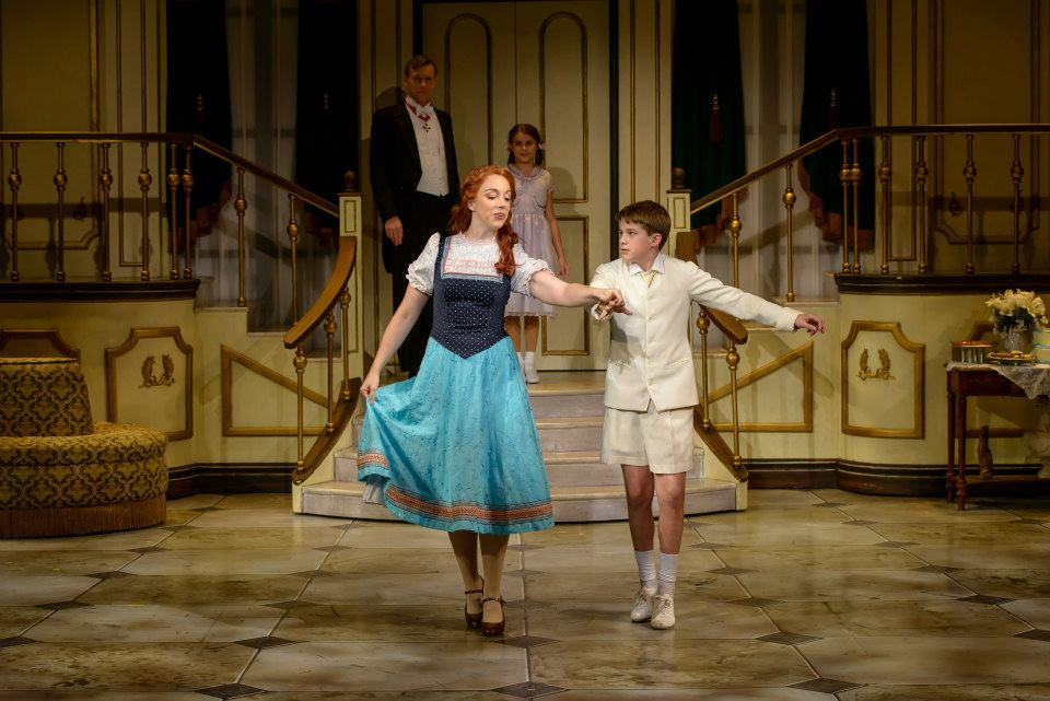 The Sound of Music -  teaching the Laendler