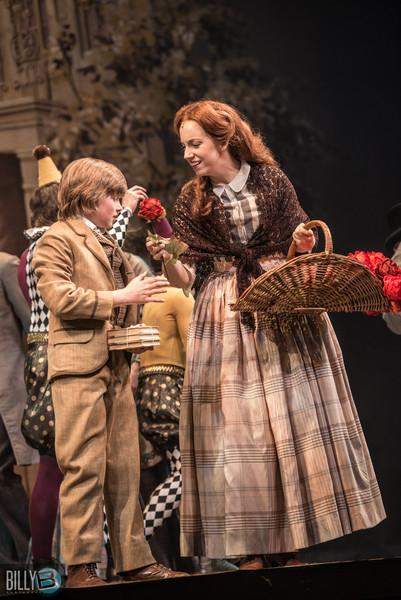 Oliver!  at Paper Mill Playhouse - the Rose Seller