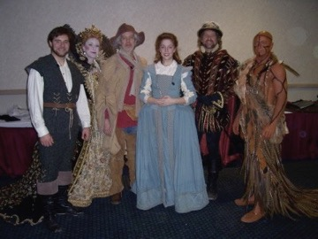 North Carolina state gala - performing a selection from  The Lost Colony  with Terrence Mann