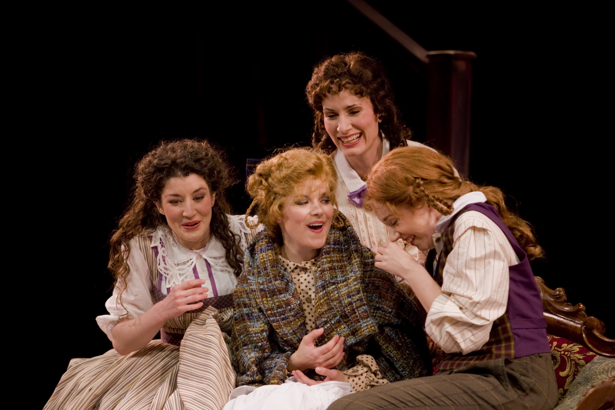 The very best stage sisters a girl could ask for -  Little Women , Stages St Louis