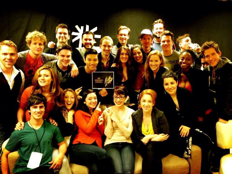 Oscars 2013 Les Mis Ensemble