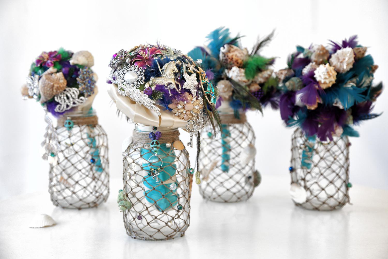 Brooch Bouquet Wedding Detail Photography