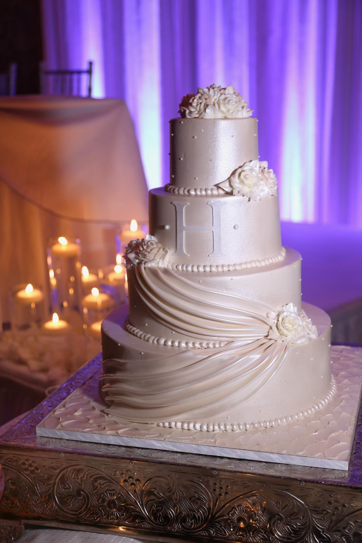 Palermo Wedding Cake Details Photography