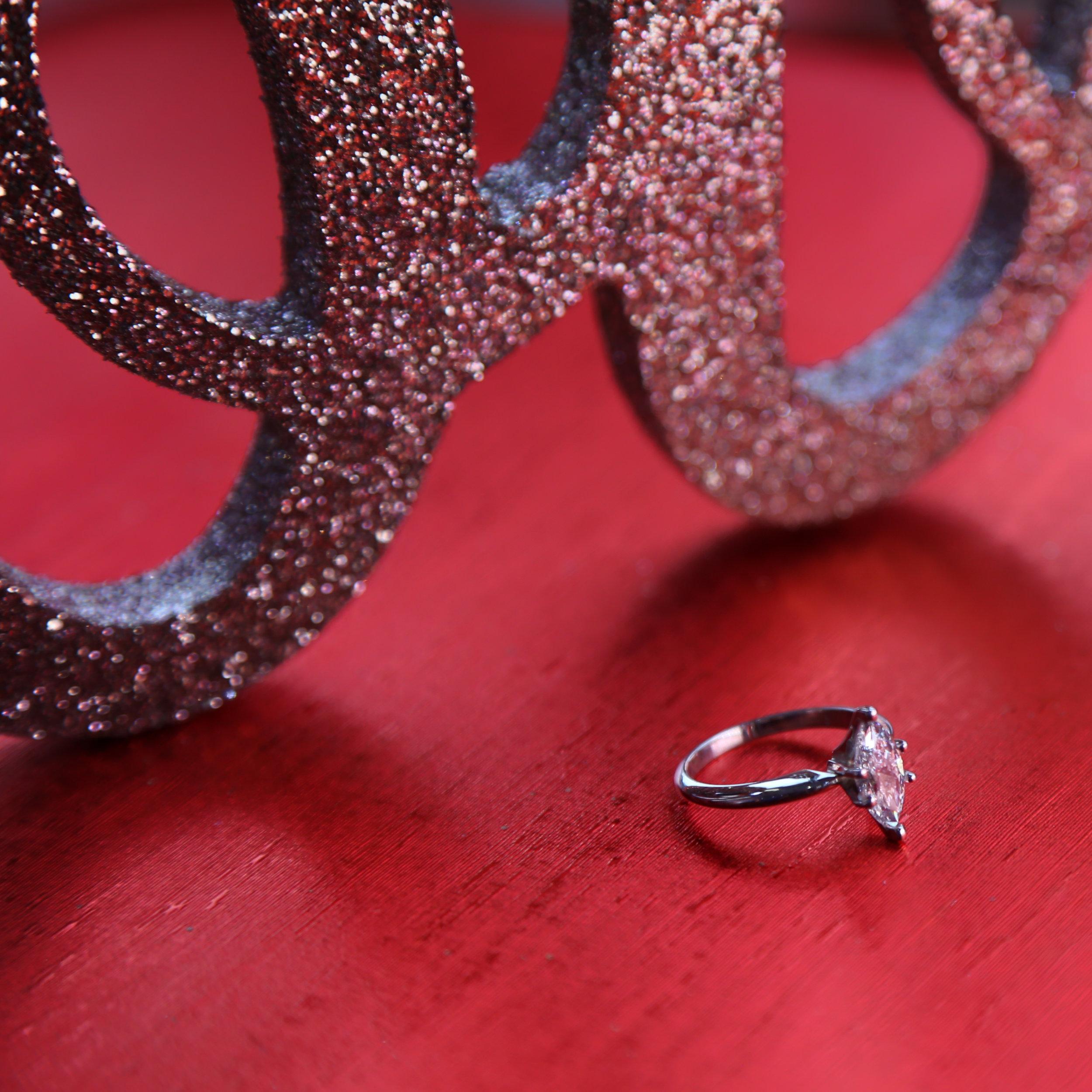 Rose Rosa Wedding Ring Wedding Details