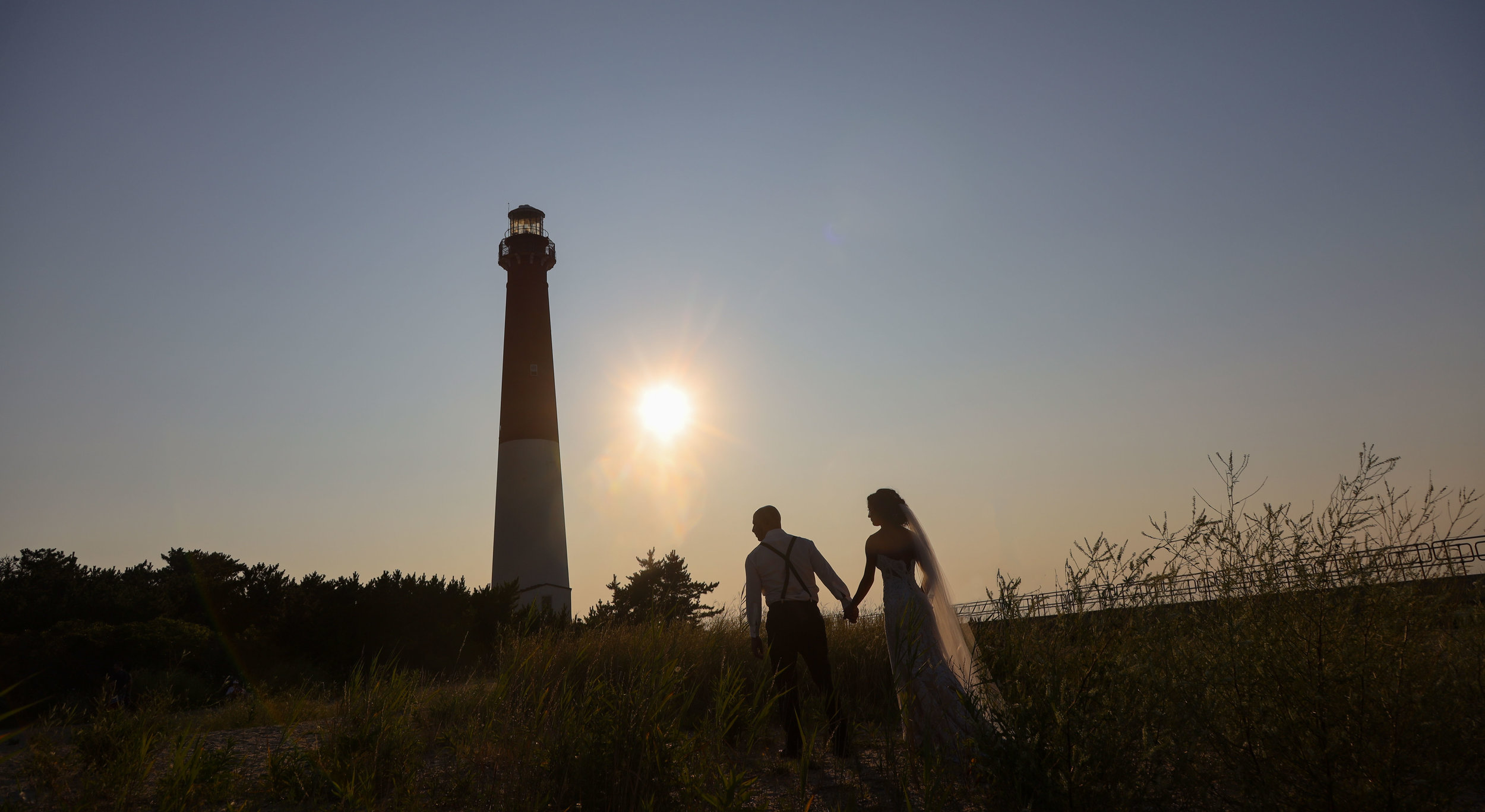 Lighthouse at Barnegat Point - New Jersey