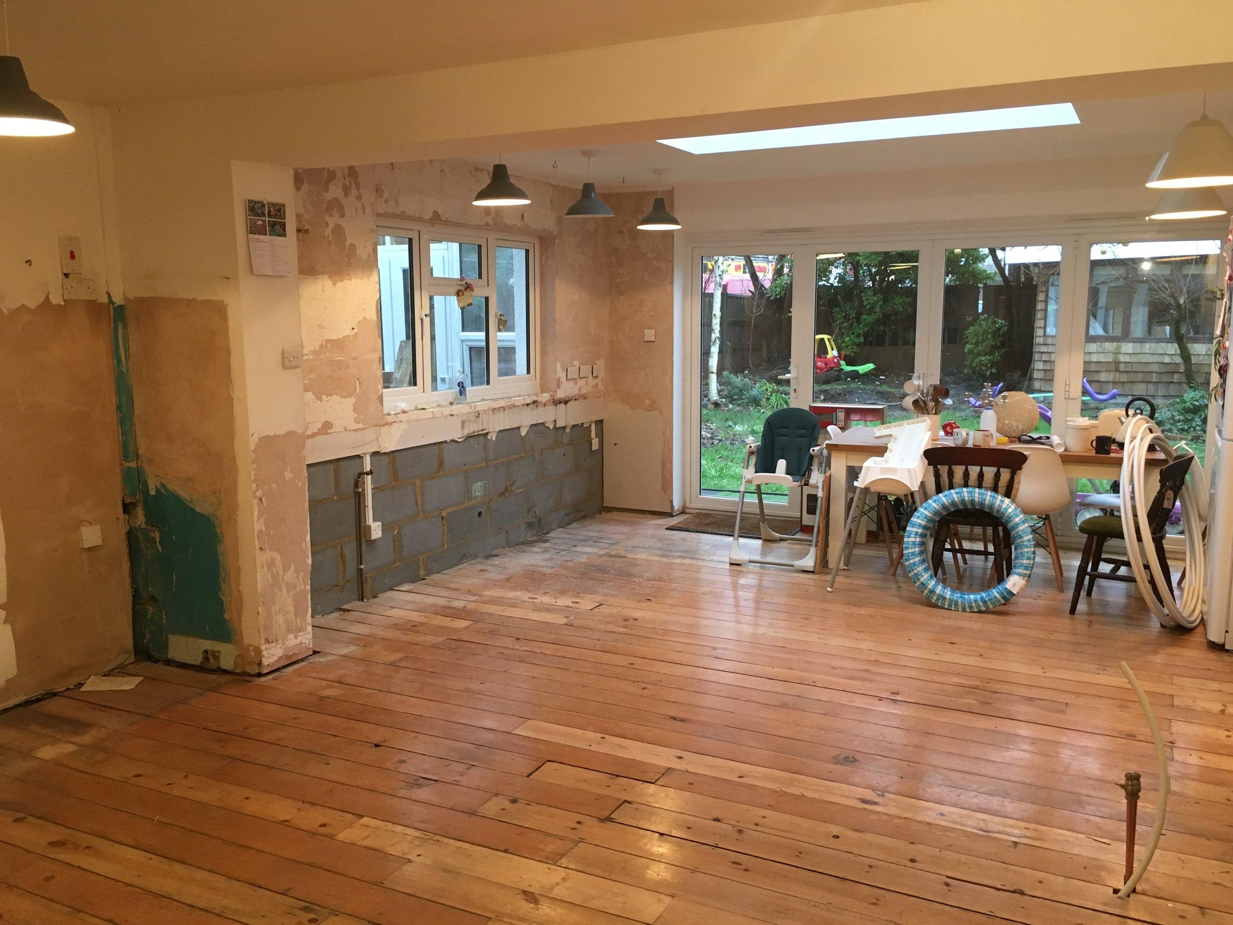 Kitchen Renovations begin