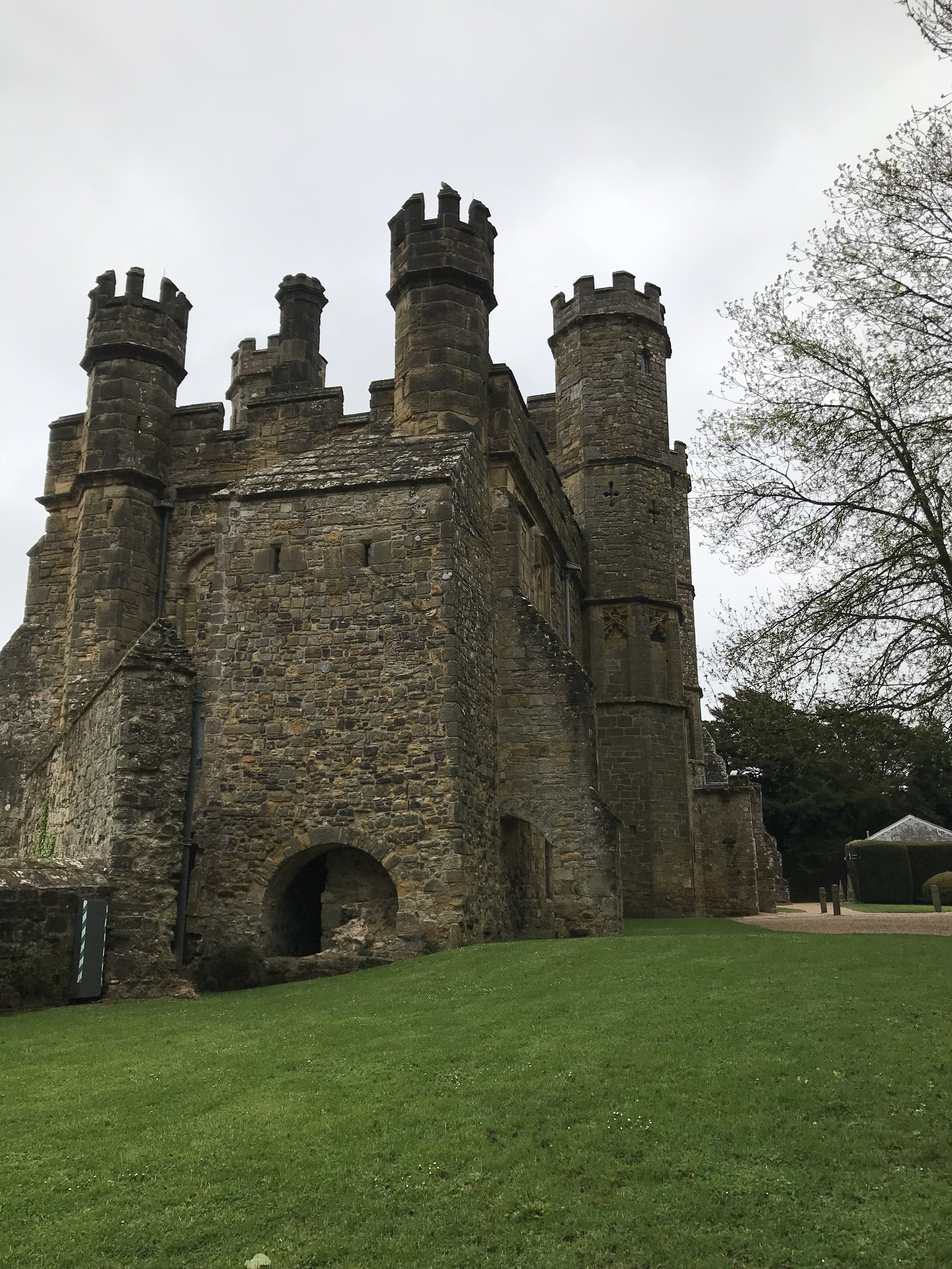 The entrance tower to the Battle Abbey