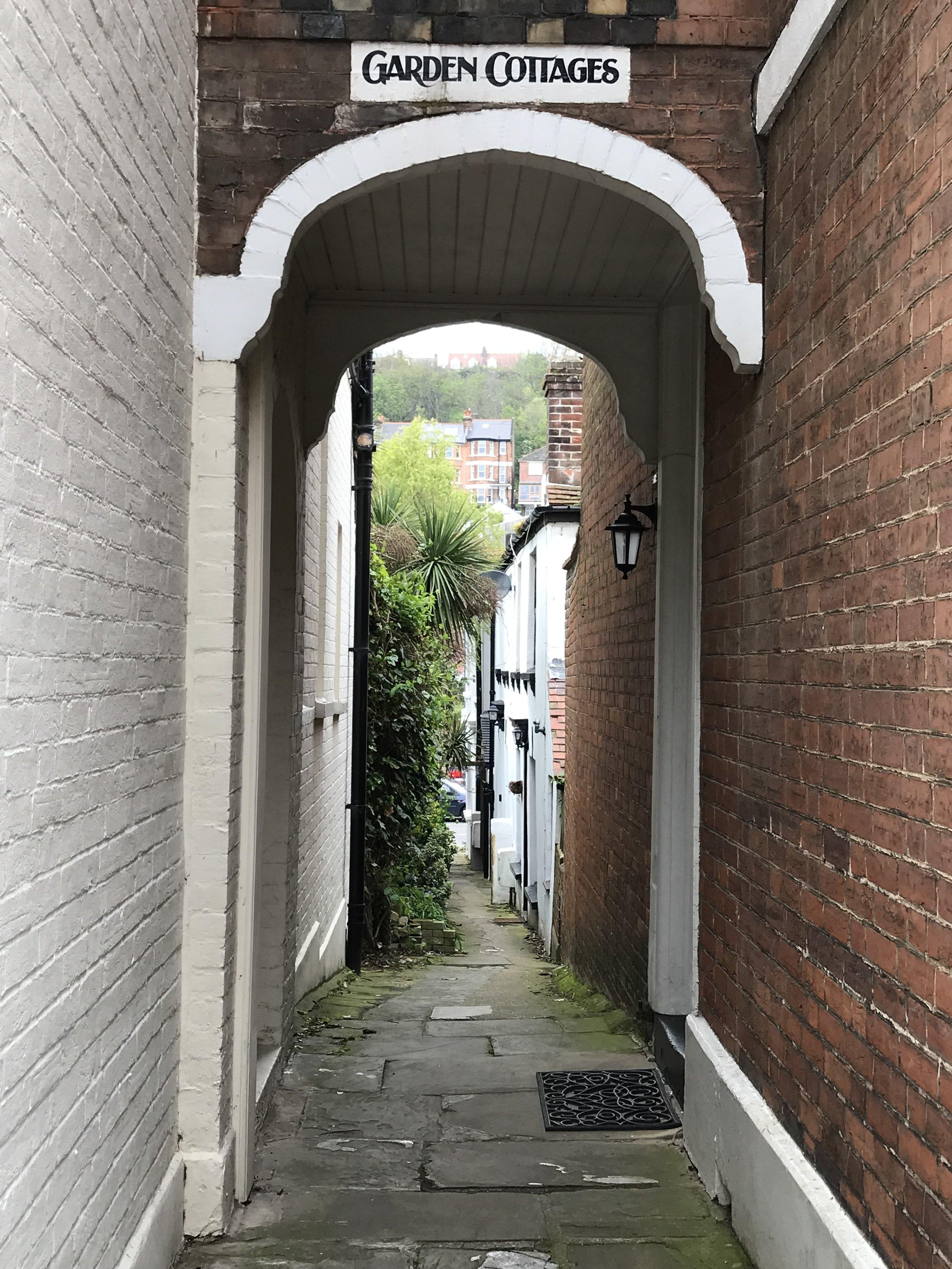 Quaint little alleyways