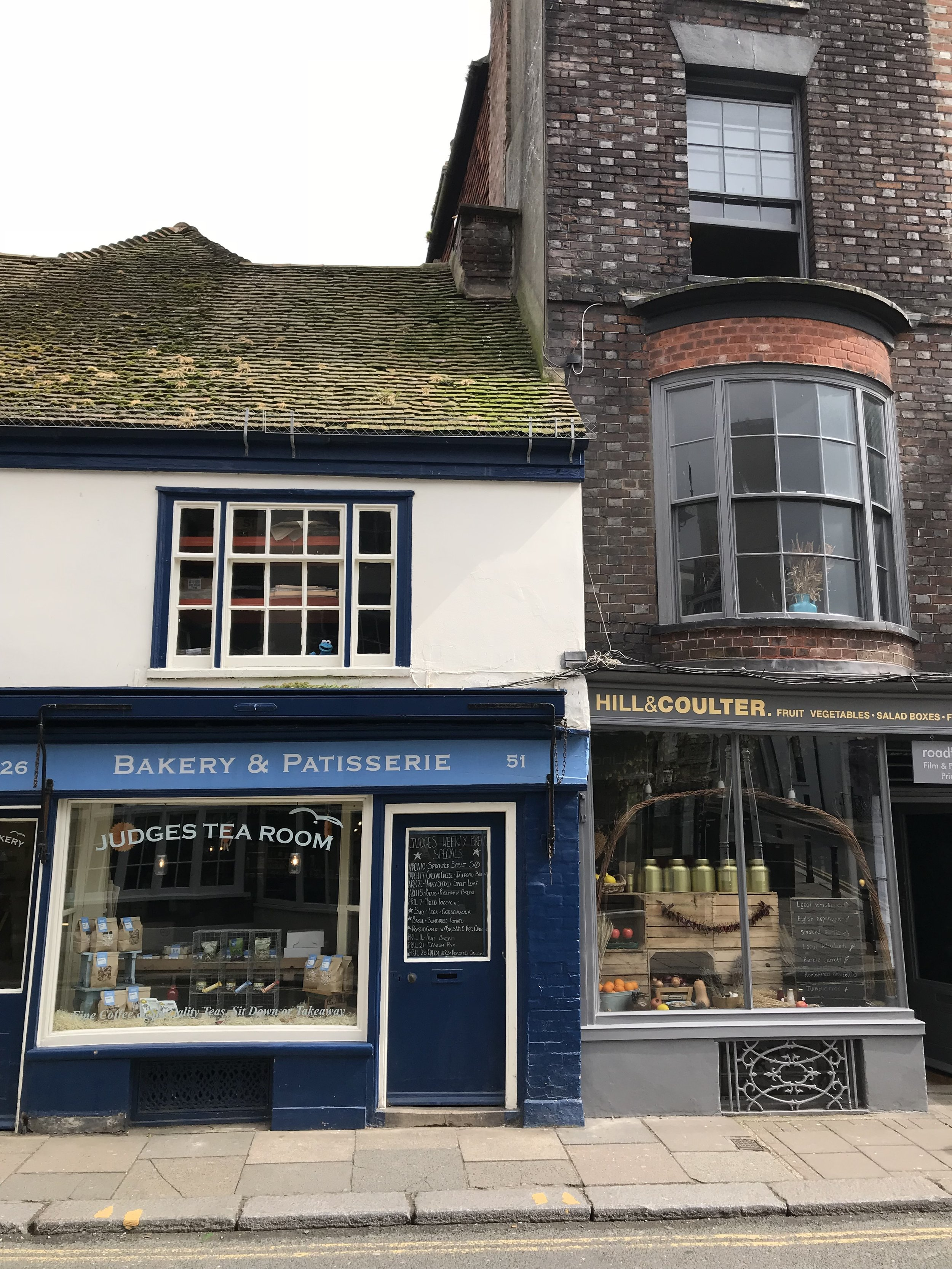 High Street Tea Rooms and Grocery Stores