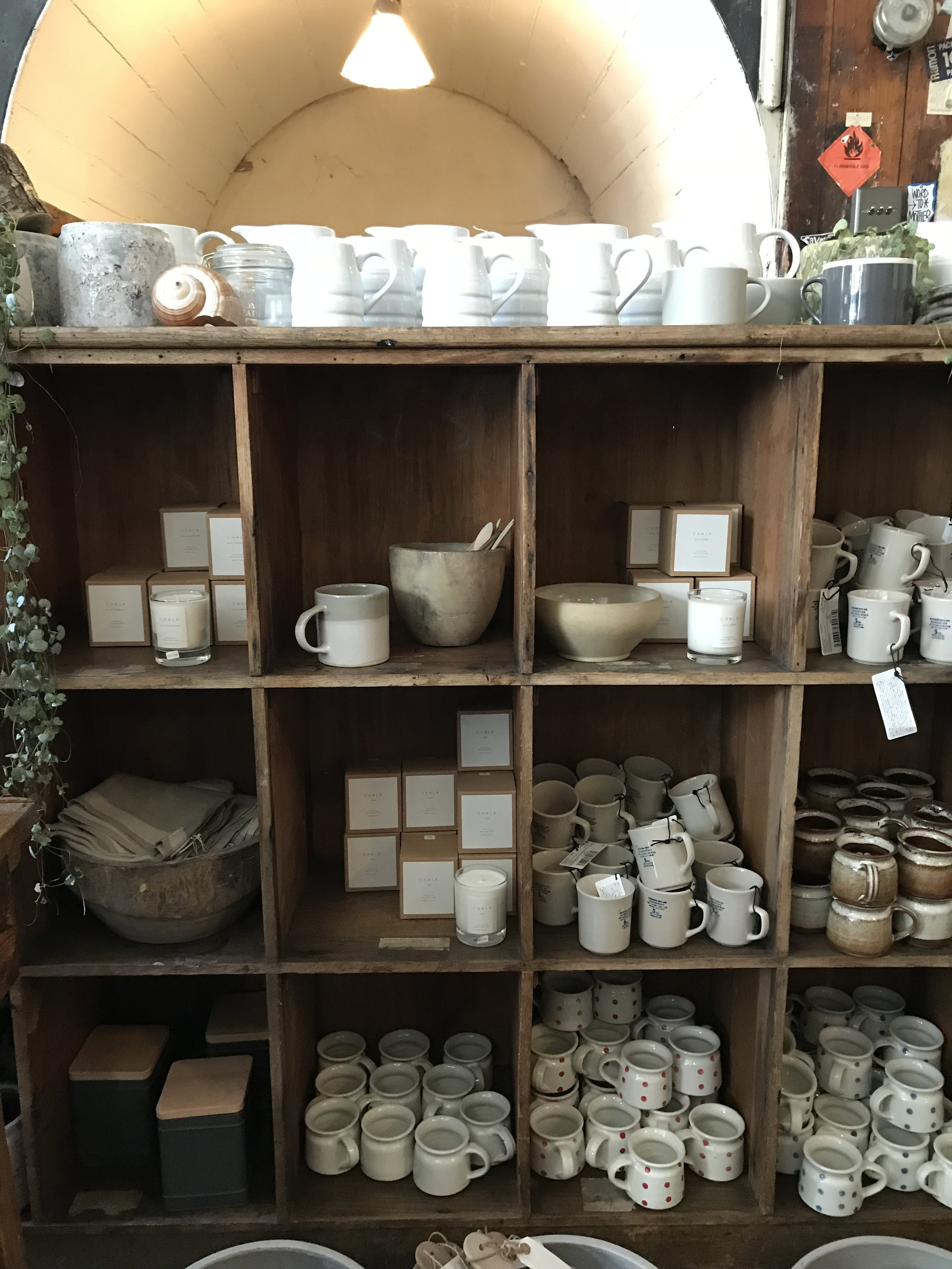 Hastings and vintage homeware, like peas in a pod!