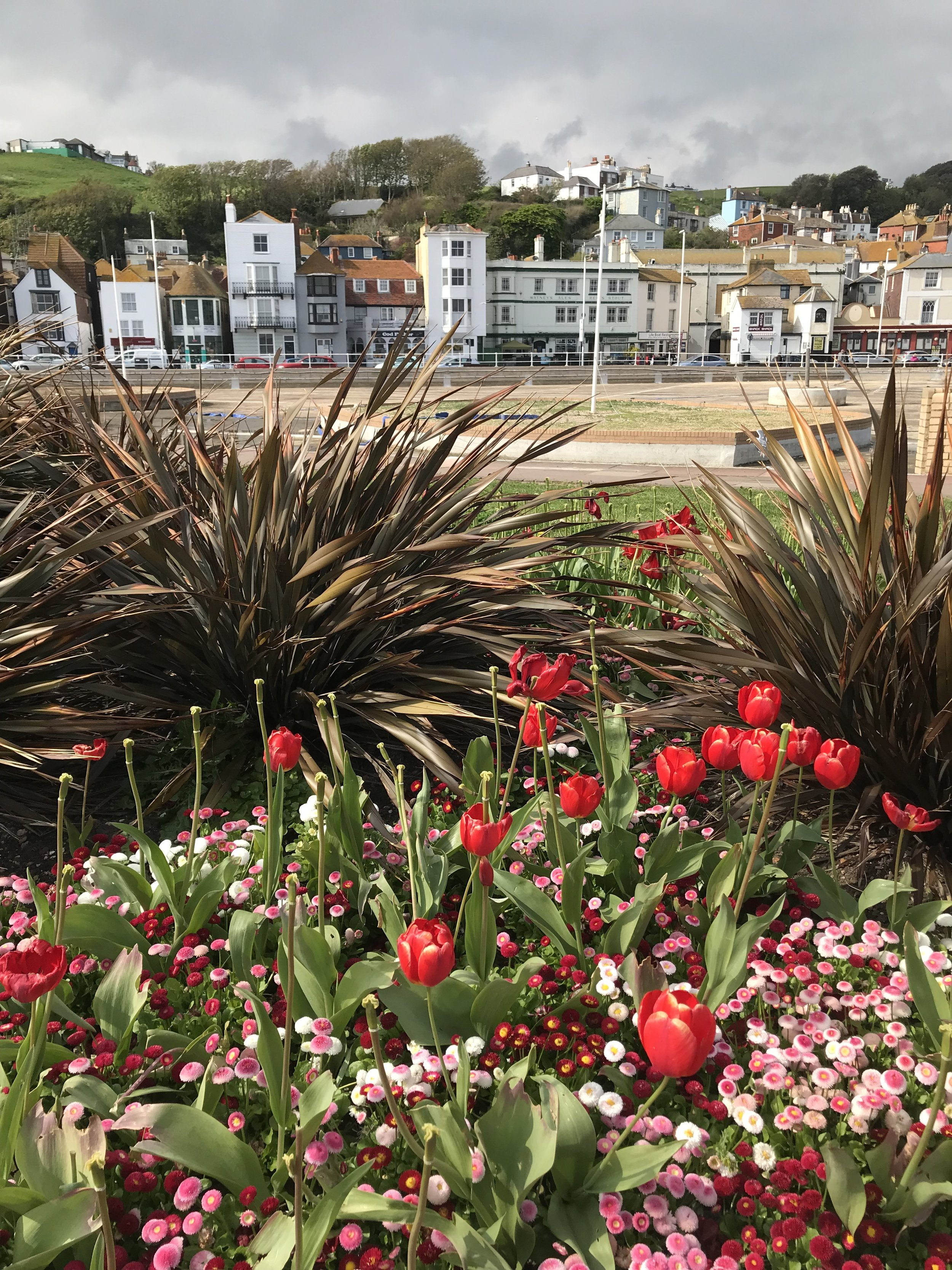 Hastings sea front