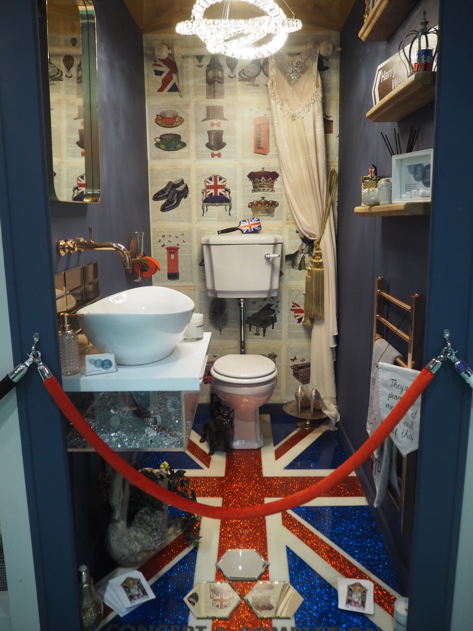 God Save the Queen, and her throne :)
