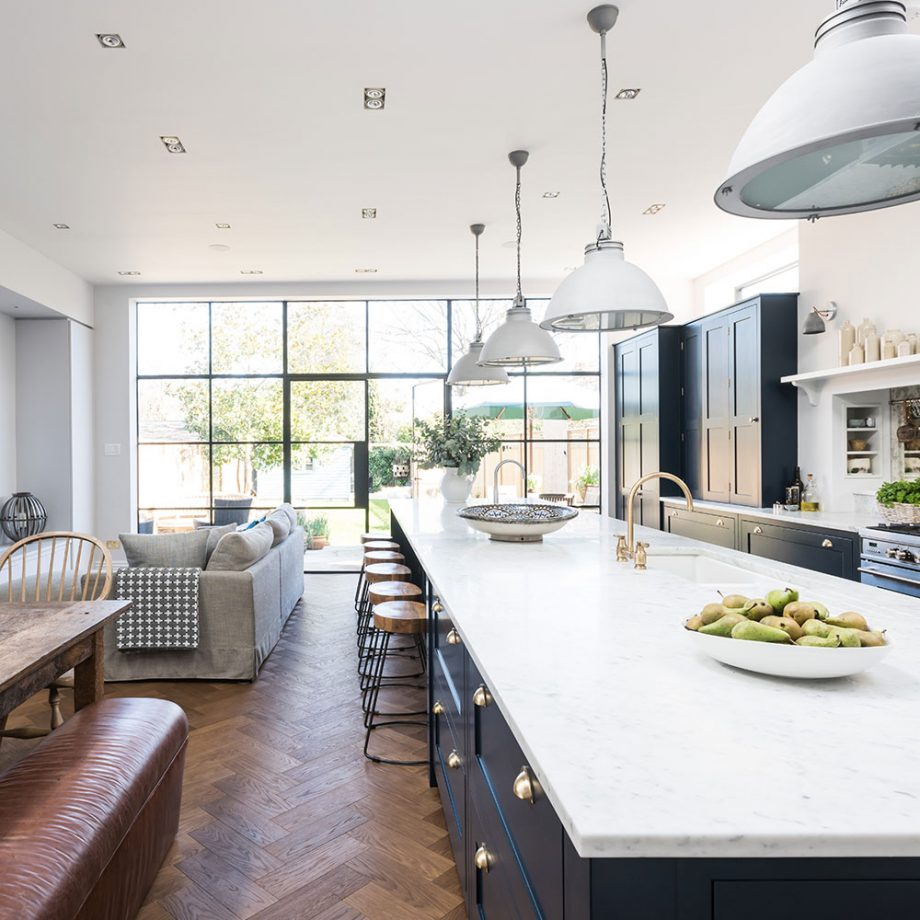The ultimate dream kitchen! Credit: Veronica Rodriguez and Ideal Homes UK